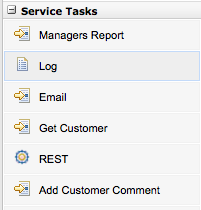 Domain Specific Service Tasks