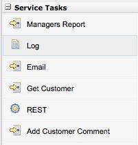 Domain Specific Service Tasks