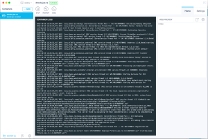 Docker Image Output