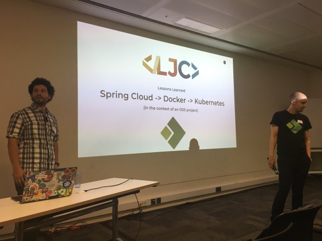 LJC / July '18: Spring Cloud -> Docker -> K8s – Salaboy (Open Source